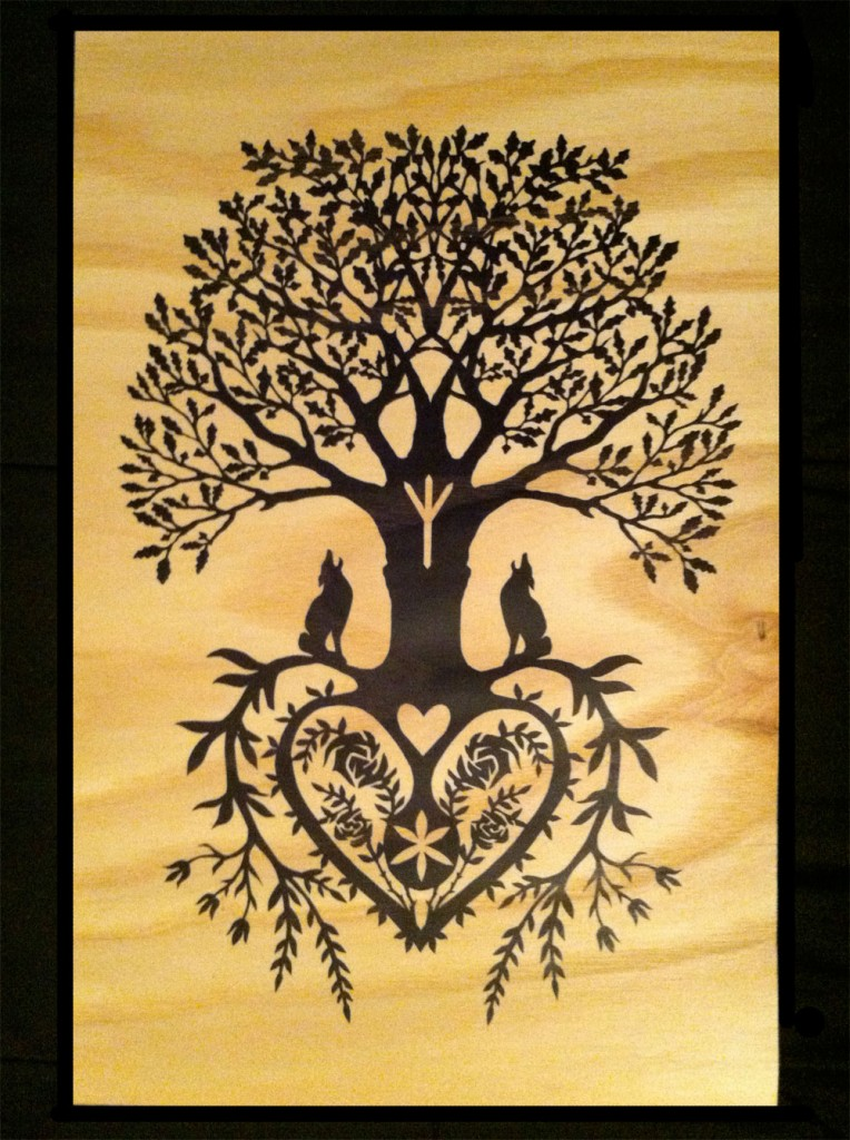 Tree of Life Fine Art Wood Print